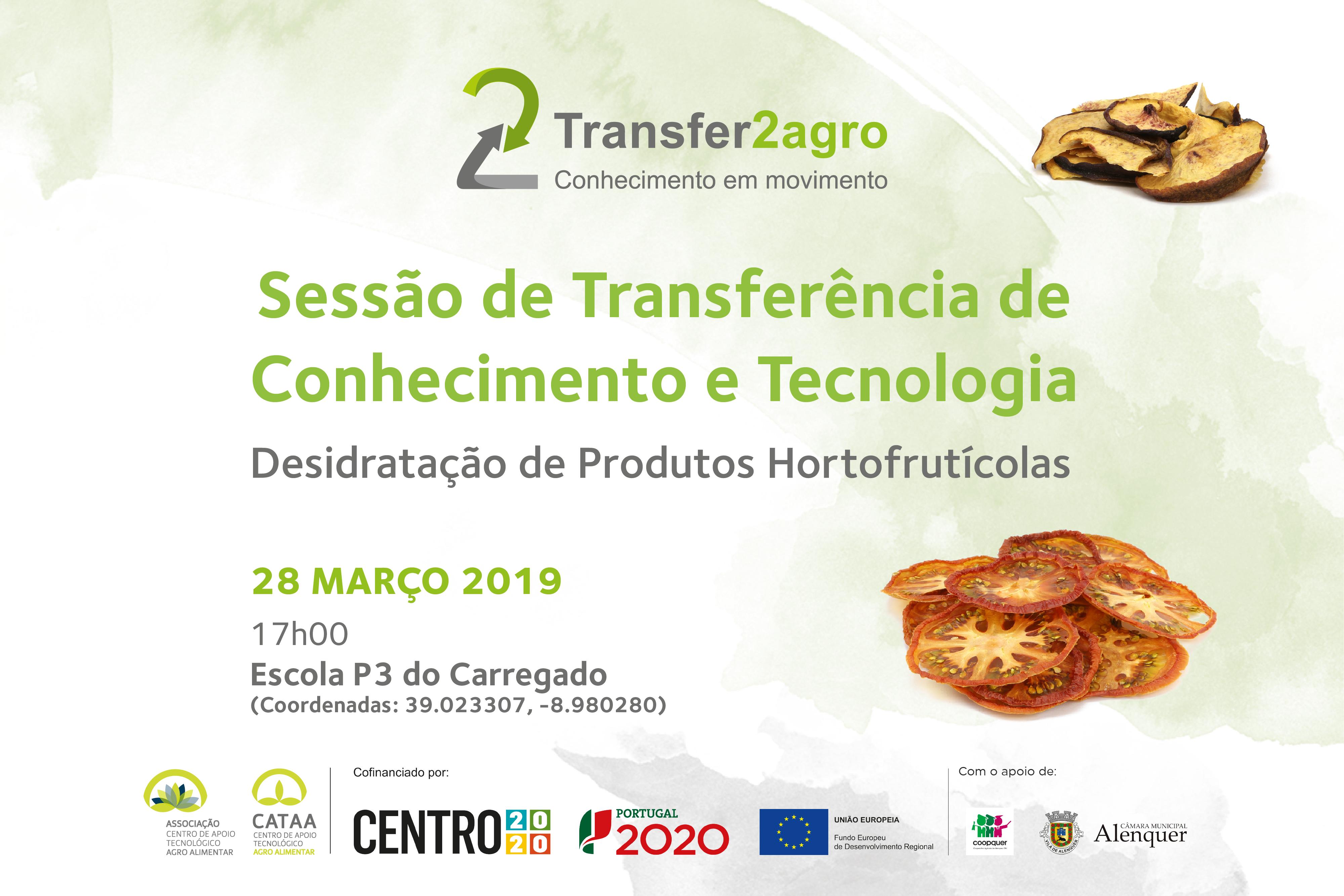 Sessão de Transferência de Conhecimento e Tecnologia   Alenquer   28 março 2019