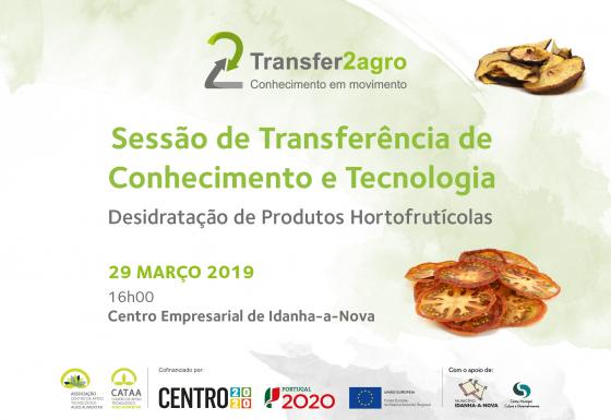 Sessão de Transferência de Conhecimento e Tecnologia | Idanha-a-Nova| 29 março 2019